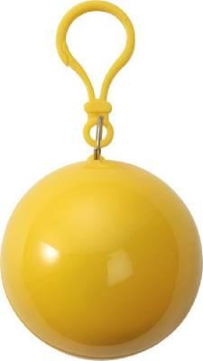 Notfall-Poncho Saldus-gelb-one size