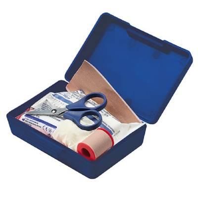 Notfall-Set Box, klein-blau(standard)