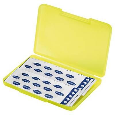 Notfall-Set Pflaster Box - neongelb