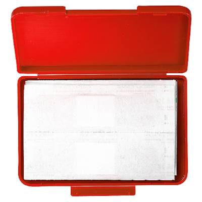 Notfall-Set Pflaster Box - rot