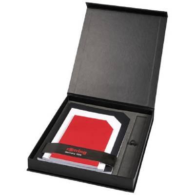 Rotring Notizbuch Geschenkset-schwarz