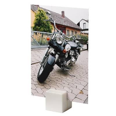 Notizhalter Magnet-Quadrat-weiß