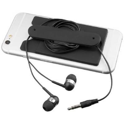 Ohrhörer mit Kabel und Silikon Telefontasche