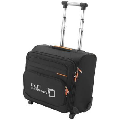 Orange Line Square Handgepäck Koffer-schwarz