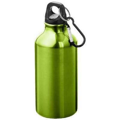 Oregon Trinkflasche mit Karabiner-grün-glänzend