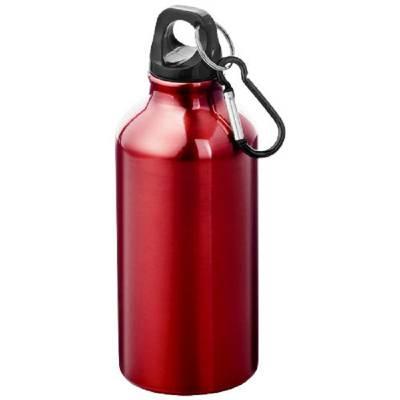 Oregon Trinkflasche mit Karabiner-rot-glänzend