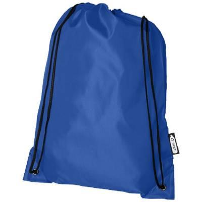 Oriole Kordelzugrucksack aus RPET-blau(royalblau)