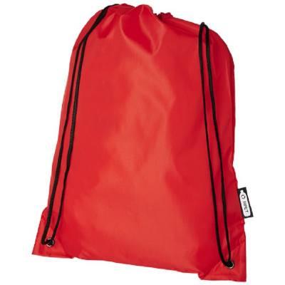Oriole Kordelzugrucksack aus RPET-rot
