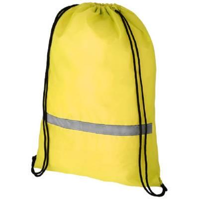 Oriole Rucksack mit Sicherheitskordelzug-gelb