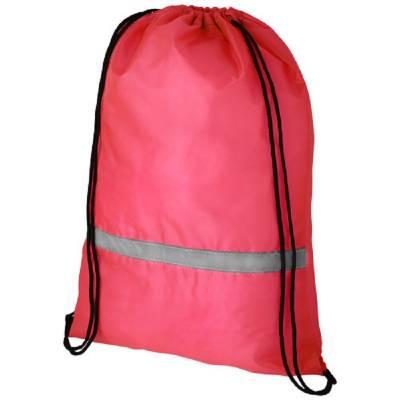 Oriole Rucksack mit Sicherheitskordelzug-rot
