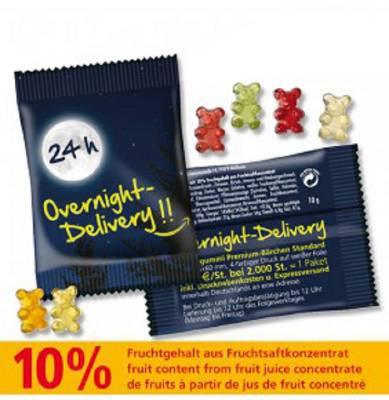 Overnight Premium-Bärchen
