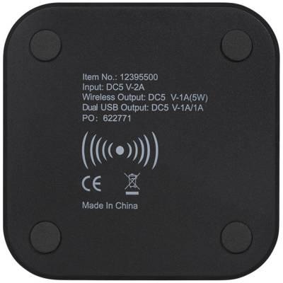 Ozone Wireless Charg Pad-schwarz