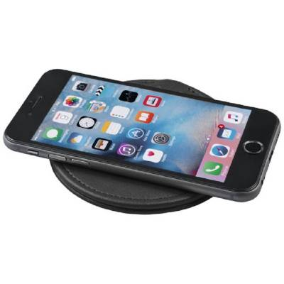 PU Wireless Charging Pad-BK