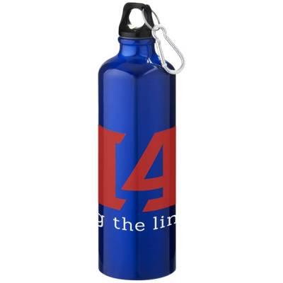 Pacific Trinkflasche mit Karabiner-blau