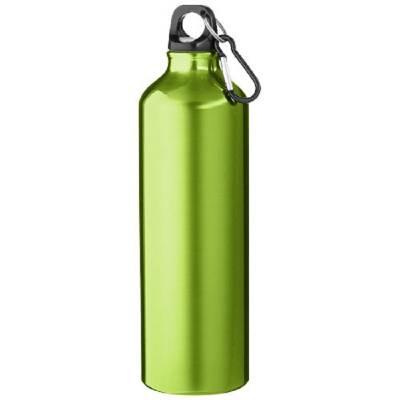 Pacific Trinkflasche mit Karabiner-grün