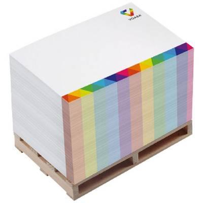 Pallet Block-Mate® 2A Notizblock-weiß
