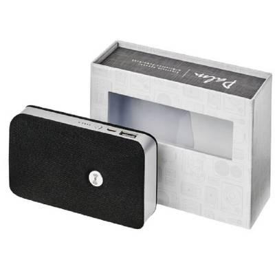 Palm Bluetooth Lautsprecher und Powerbank mit kabelloser La-schwarz