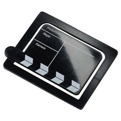 Papierklammer Filmklappe-schwarz