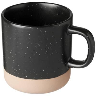 Pascal 360 ml Keramikbecher-schwarz