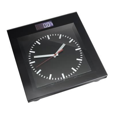 Personenwaage mit Uhr REFLECTS-ALEKSIN