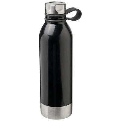 Perth 740 ml Sportflasche aus Edelstahl-schwarz