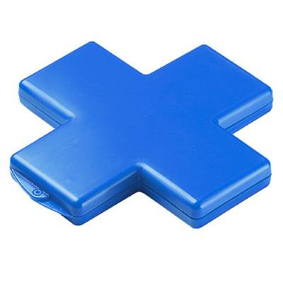 Pflasterbox Kreuz - blau