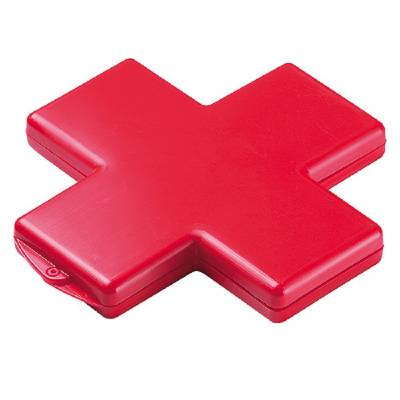 Pflasterbox Kreuz - rot