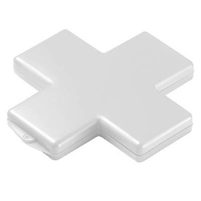 Pflasterbox Kreuz - weiß