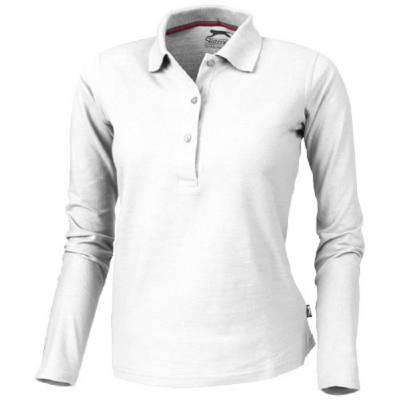Slazenger Point Damen Langarm Poloshirt