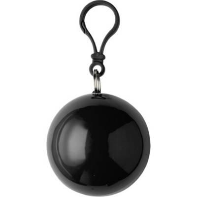Poncho Universum aus Kunststoff-schwarz