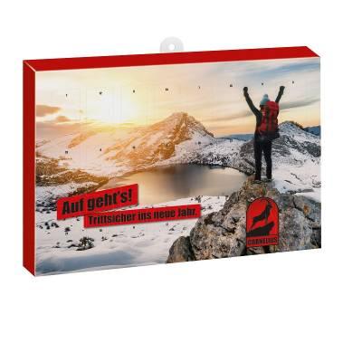 Premium Fruchtgummi-Adventskalender BUSINESS mit Tee-Bären®