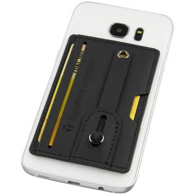 Prime RFID Telefontasche mit Riemen-schwarz