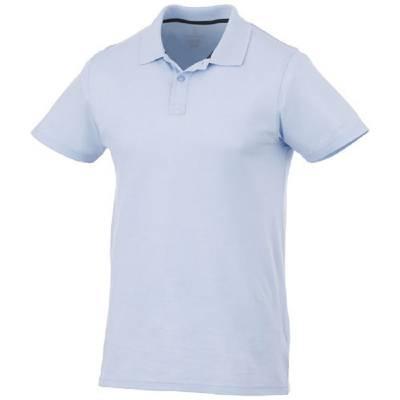 Primus kurzarm Poloshirt-blau(hellblau)-XXL