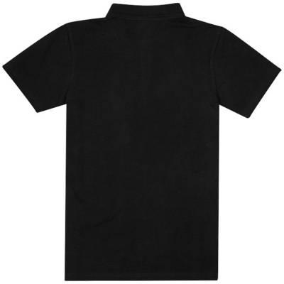 Primus kurzarm Poloshirt-schwarz-XS