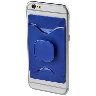 Purse mobiler Telefonhalter mit Geldbörse-blau(royalblau)