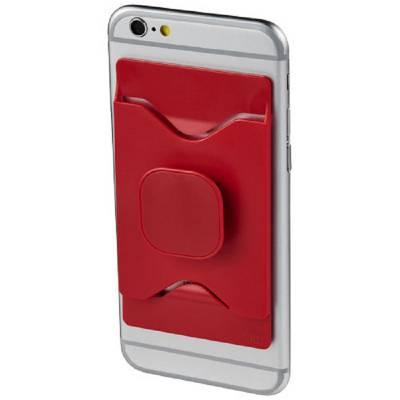 Purse mobiler Telefonhalter mit Geldbörse-rot