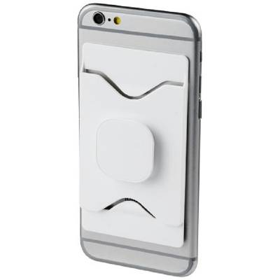 Purse mobiler Telefonhalter mit Geldbörse-weiß