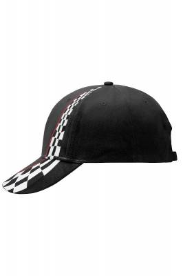 Racing Cap-MB038-schwarz-one size