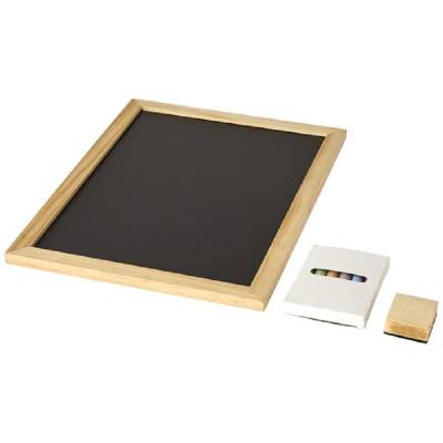 Recess 6 teiliges Set mit Tafel und Kreide-naturfarben