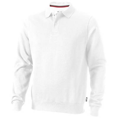 Slazenger Referee Polo-Pullover unisex- weiß - M
