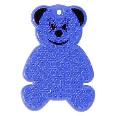 Reflektor Bär-blau(transparent)