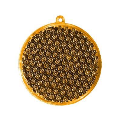 Reflektor Rund-gelb(transparent)