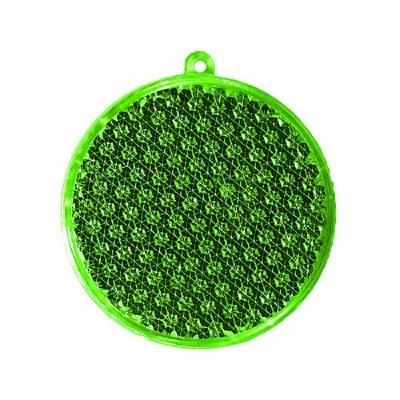 Reflektor Rund-grün(transparent)