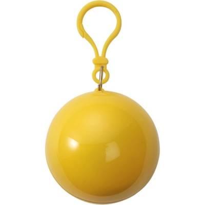 Regenponcho Regencape Bottrop in einer Kugel-gelb-one size