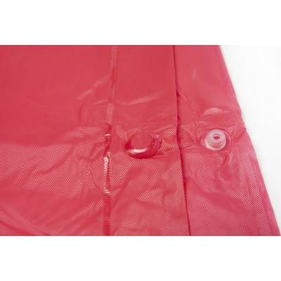 Regenponcho Regencape Fürth mit Kapuze-pink-one size