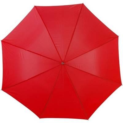 Regenschirm Schwerin-rot