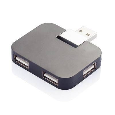 Reise USB Hub - schwarz
