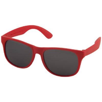 Retro Sonnenbrille-rot