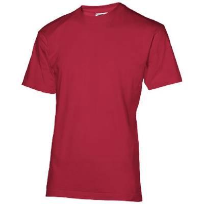 Return Ace Kurzarm T-Shirt-rot(dunkelrot)-L