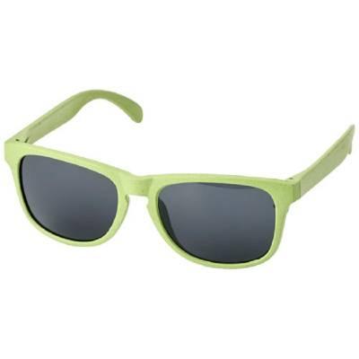 Rongo Sonnenbrille aus Weizenstrohfaser-grün